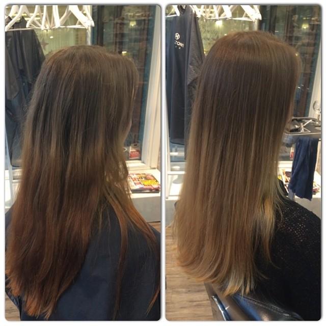avfärga håret naturligt