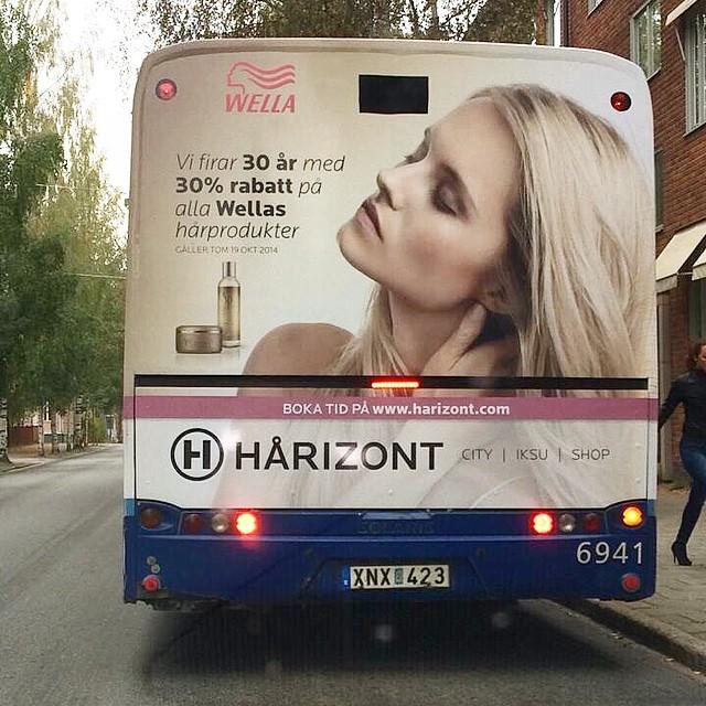 BUSSREKLAM I HELA UMEÅ